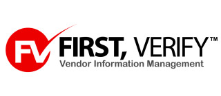 First , Verify Logo